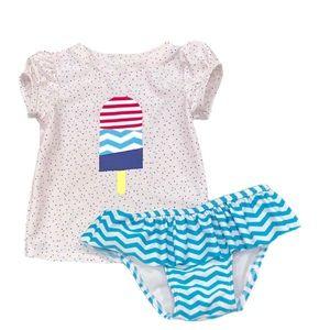 Cat & Jack Toddler Girl's Popsicle Bikini Swimsuit